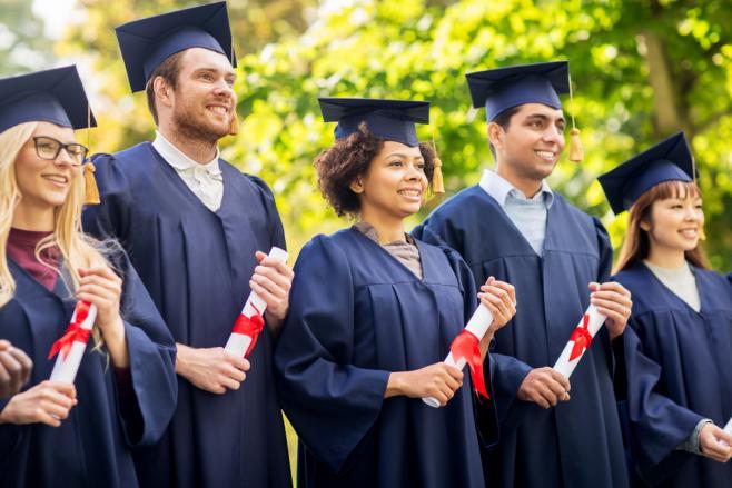 海外の大学の卒業式